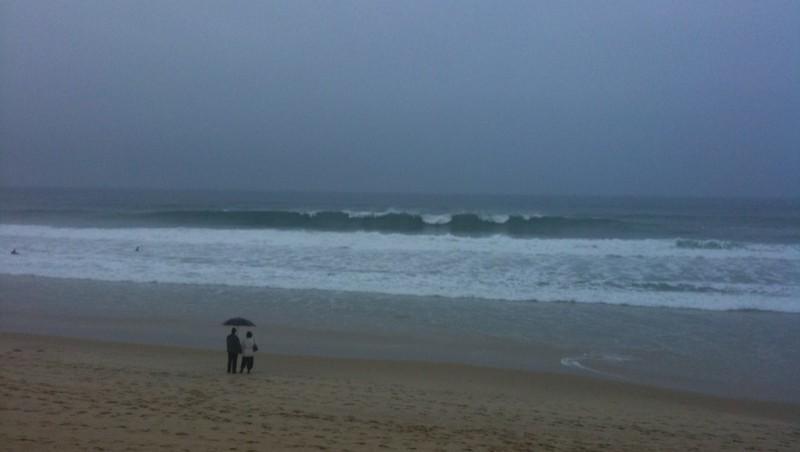 Surf report Lacanau Océan - La Nord - France (33) 2009-11-01 16:27:00
