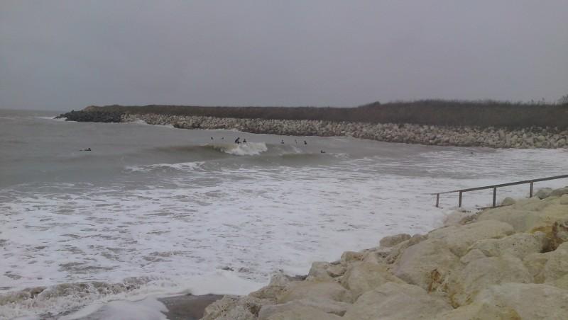 Surf report La Rochelle - Chef de Baie - France (17) 2009-11-02 15:00:00