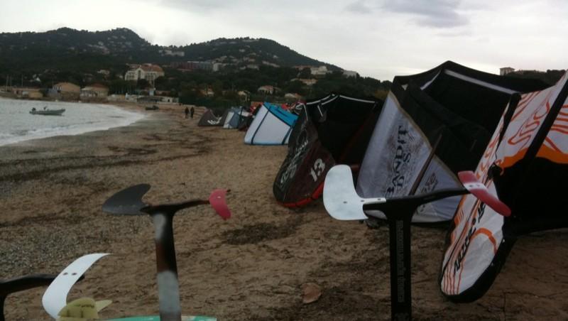 Surf report L'Almanarre - France (83) 2009-11-07 13:33:00