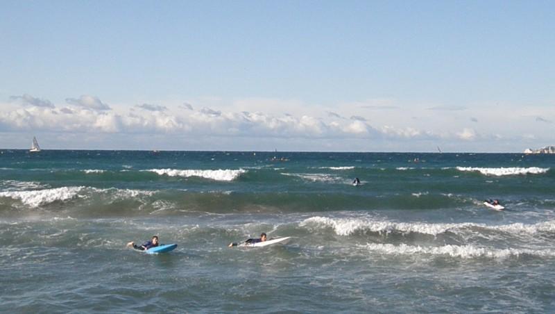 Surf report Le Prado - France (13) 2009-11-08 10:30:00