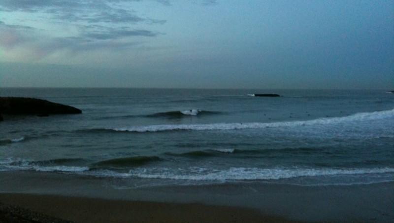 Surf report Biarritz - Grande Plage - France (64) 2009-11-12 18:00:00