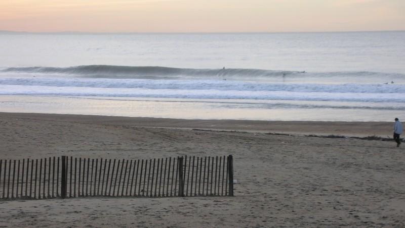 Surf report Anglet Sables d'Or - France (64) 2009-11-12 17:00:00