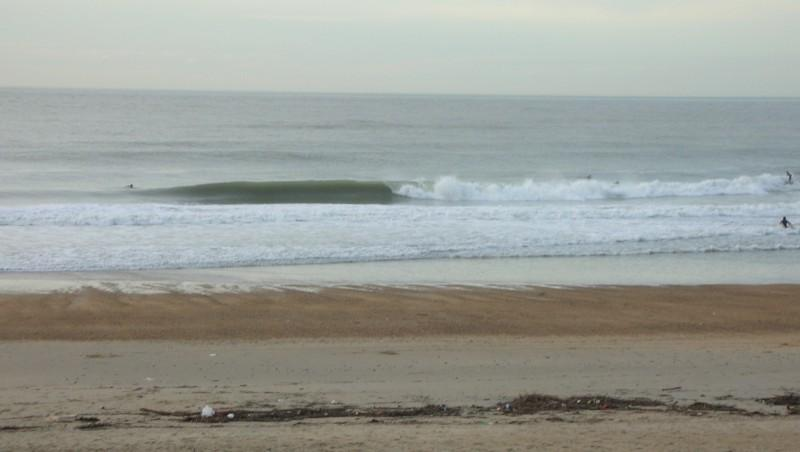 Surf report Anglet Marinella - France (64) 2009-11-12 17:00:00