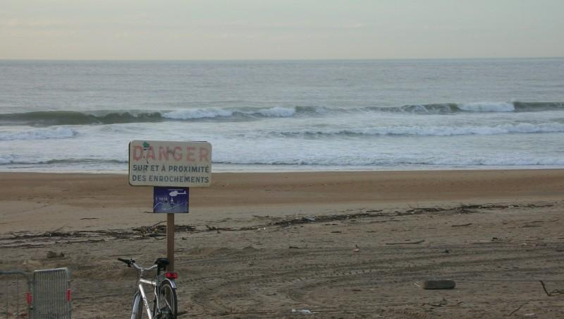 Surf report Anglet Corsaires - France (64) 2009-11-12 17:30:00