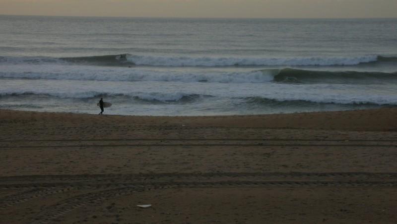 Surf report Anglet La Madrague - France (64) 2009-11-12 17:40:00