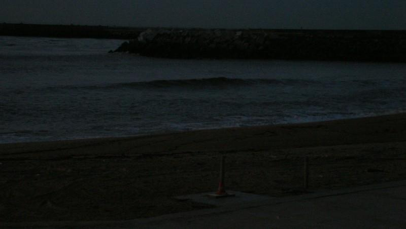 Surf report Anglet La Barre - France (64) 2009-11-12 18:15:00