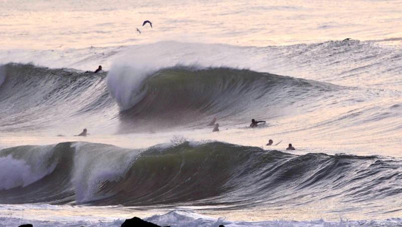Surf report Hossegor - Plage Sud - France (40) 2009-11-14 16:30:00