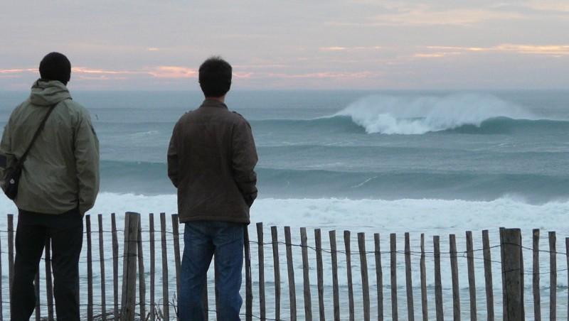 Surf report Cap-Ferret - Plage de L'Horizon - France (33) 2009-11-15 17:00:00