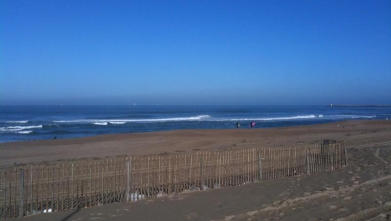 Surf report Anglet La Madrague - France (64) 2009-11-18 11:00:00