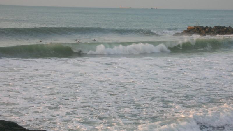 Surf report Anglet Sables d'Or - France (64) 2009-11-18 17:00:00