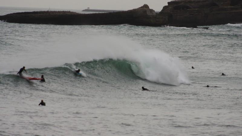 Surf report Biarritz - Grande Plage - France (64) 2009-11-21 16:00:00