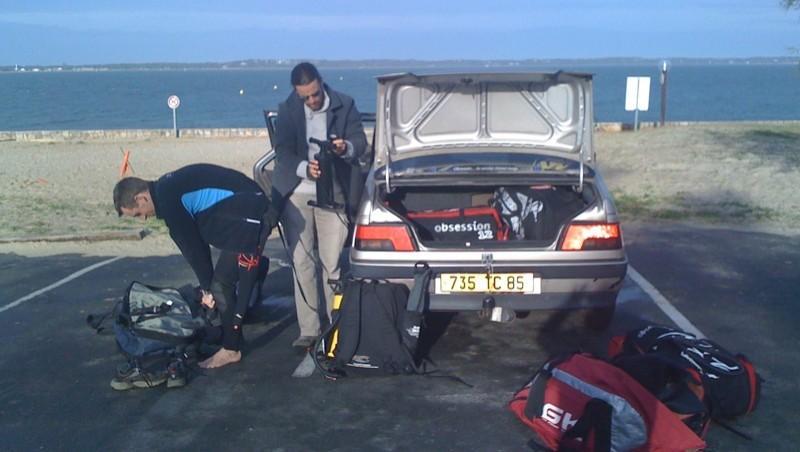 Surf report Arcachon - Les Arbousiers - France (33) 2009-11-25 10:07:00