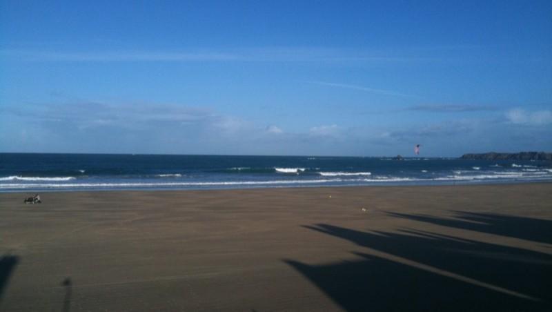 Surf report Saint-Malo - Plage Rochebonne - France (35) 2009-11-27 11:03:00