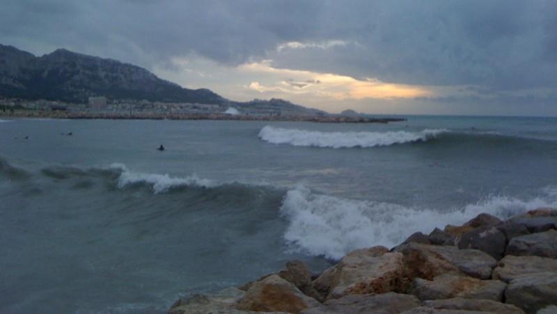Surf report Le Prado - France (13) 2009-11-29 16:26:00