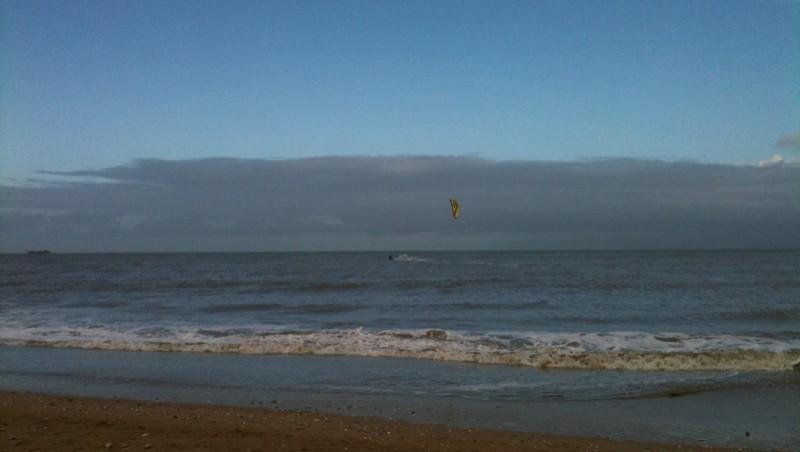 Surf report Franceville - France (14) 2009-12-06 11:00:00