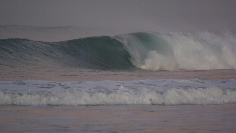 Surf report La Torche - France (29) 2009-12-12 09:00:00