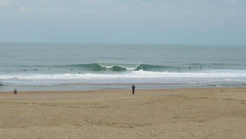 Surf report Anglet Marinella - France (64) 2009-12-13 12:00:00