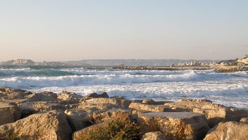 Surf report Le Prado - France (13) 2009-12-19 16:00:00