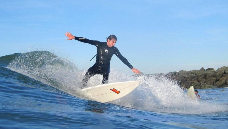 Surf report Capbreton - Le Santosha - France (40) 2009-12-10 10:00:00