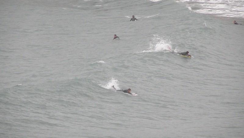 Surf report Plage du Verdon - France (13) 2009-12-22 16:15:00