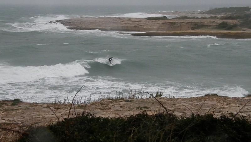 Surf report La Couronne - France (13) 2009-12-22 16:30:00