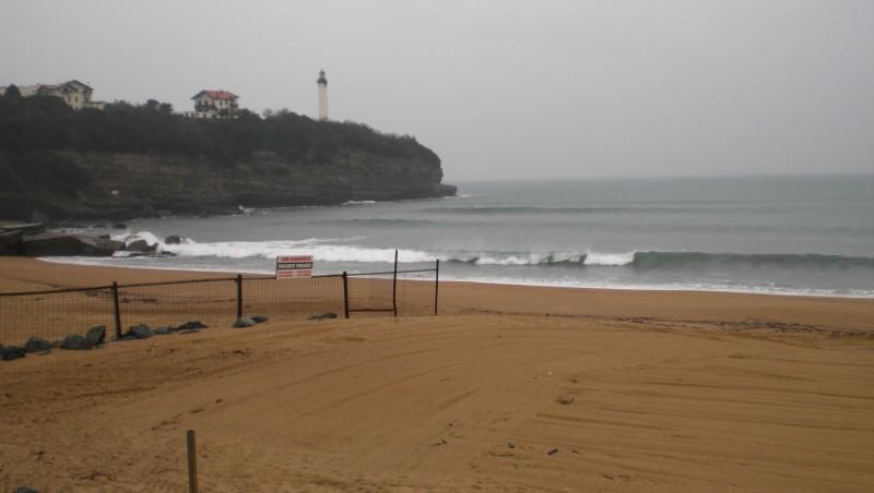 Surf report Anglet VVF - France (64) 2009-12-23 14:00:00