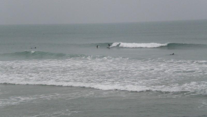 Surf report Côte des Basques - France (64) 2009-12-23 14:10:00