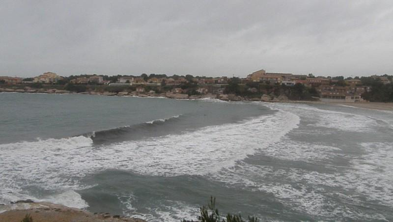 Surf report Plage du Verdon - France (13) 2009-12-23 17:00:00