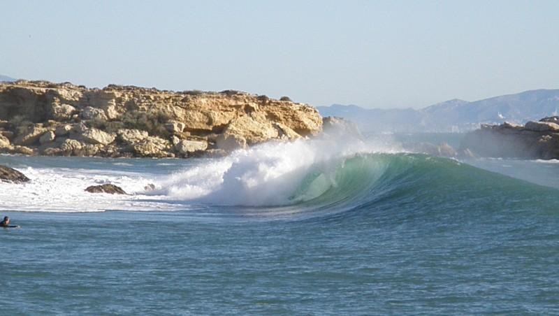 Surf report La Couronne - France (13) 2009-12-25 13:25:00