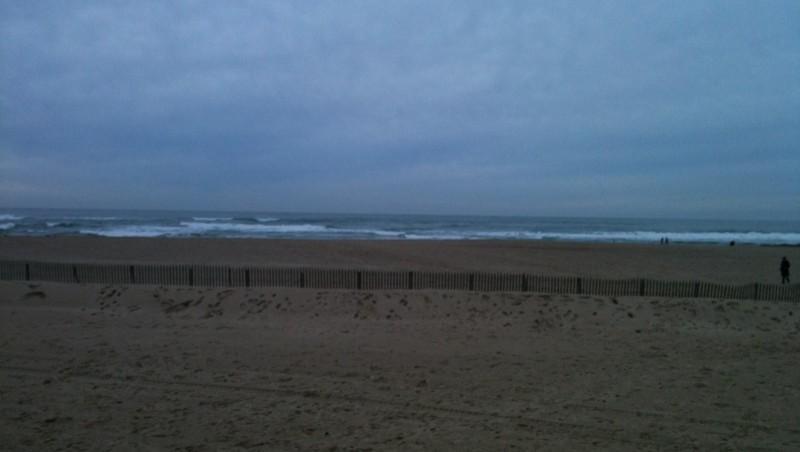 Surf report Bidart Erretegia - France (64) 2009-12-27 17:10:00