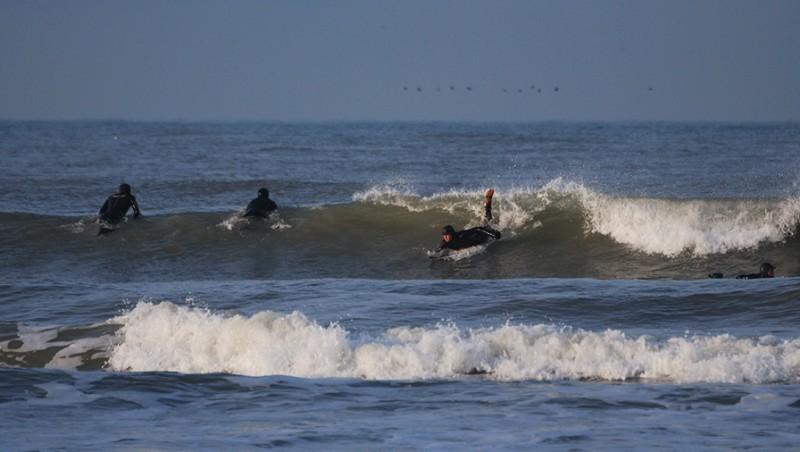 Surf report Wimereux - Plage Nautique - France (62) 2009-12-28 10:00:00