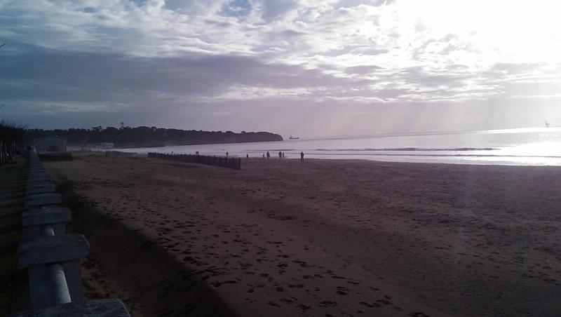 Surf report Royan - Grande Plage - France (17) 2009-12-29 16:00:00
