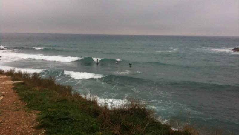 Surf report L'Arquet - France (13) 2009-12-31 11:26:00