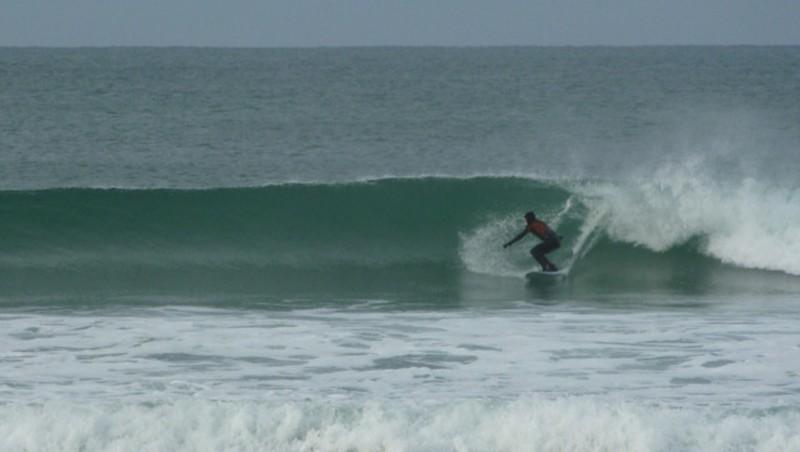 Surf report Le Porge - France (33) 2009-12-26 10:30:00