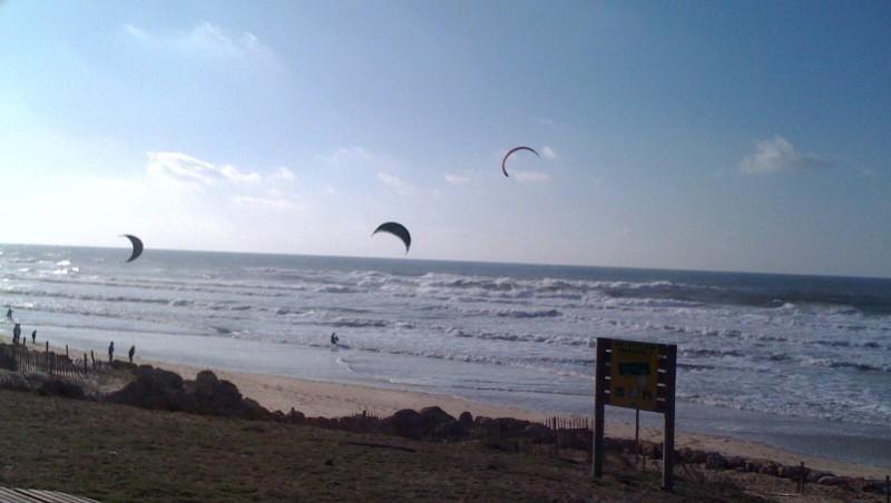 Wind report Lacanau Océan - La Nord - France (33) 2010-01-01 14:00:00