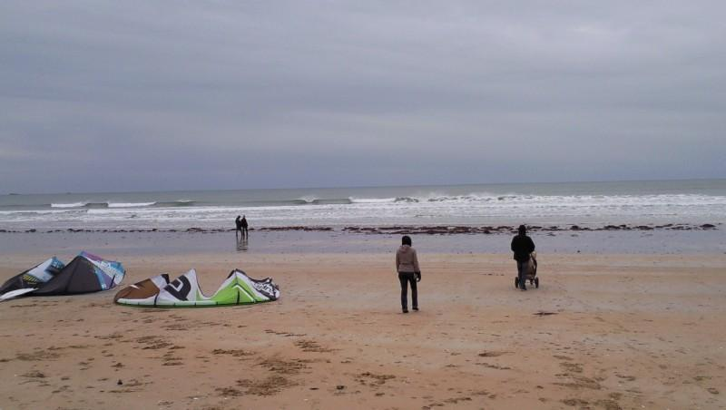 Surf report Quiberon - Port Blanc - France (56) 2010-01-03 16:00:00