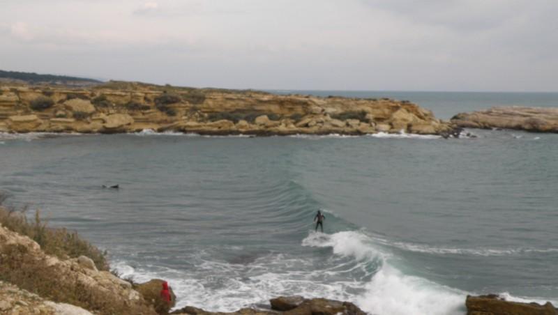 Surf report L'Arquet - France (13) 2010-01-09 16:00:00