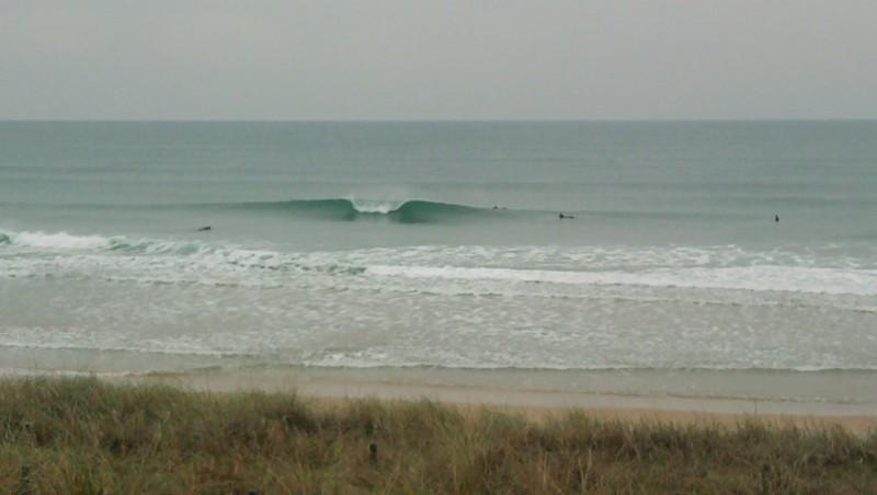 Surf report Lacanau Océan - La Nord - France (33) 2010-01-10 12:00:00