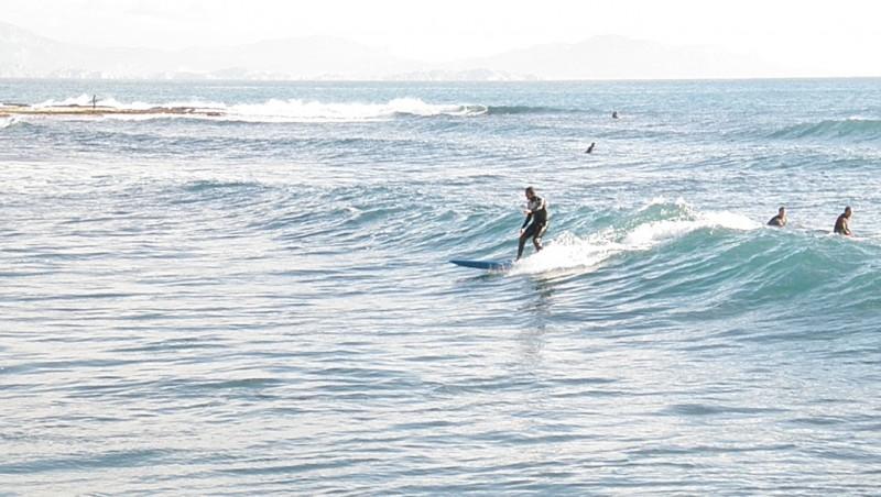 Surf report Sausset les Pins - Plage du Port - France (13) 2010-01-13 13:00:00