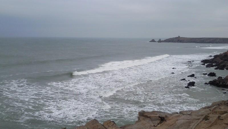 Surf report Quiberon - Port Blanc - France (56) 2010-01-19 16:00:00