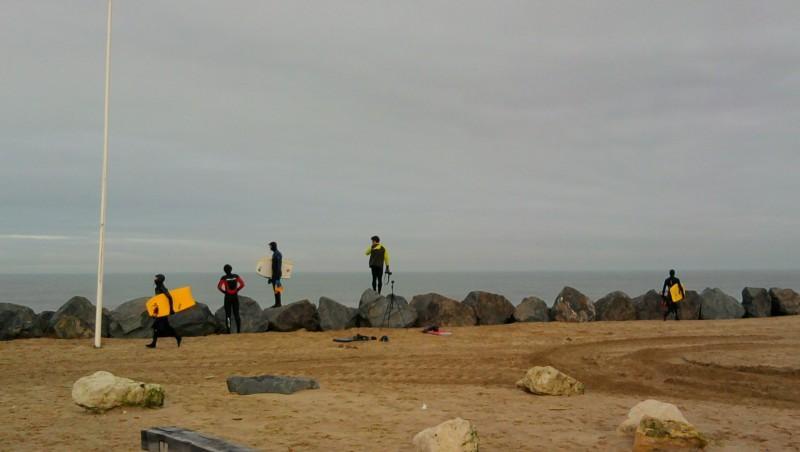 Surf report Soulac - L'Amélie - France (33) 2010-01-23 10:00:00