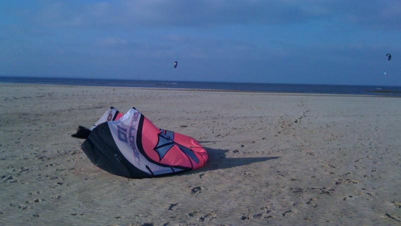 Wind report La Hume - France (33) 2010-01-26 13:00:00