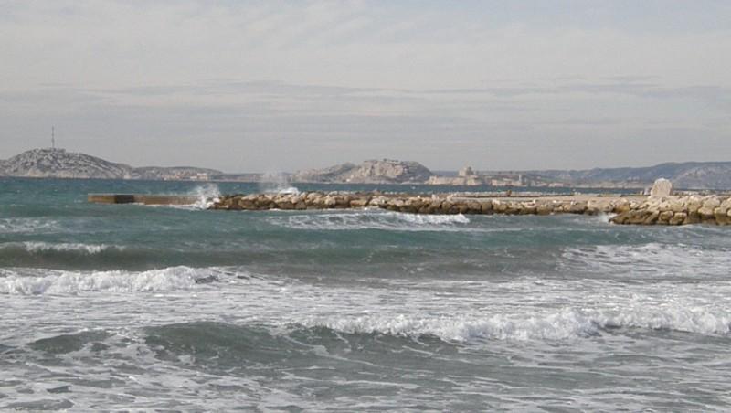 Surf report Le Prado - France (13) 2010-01-29 13:00:00