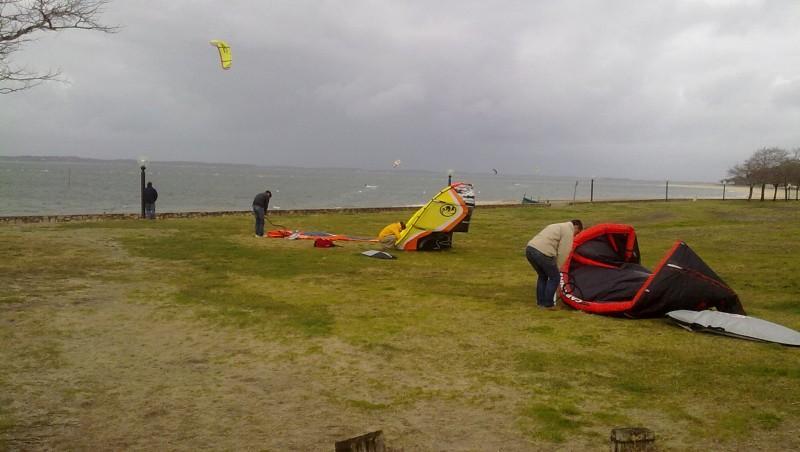 Wind report Arcachon - Les Arbousiers - France (33) 2010-01-29 14:00:00
