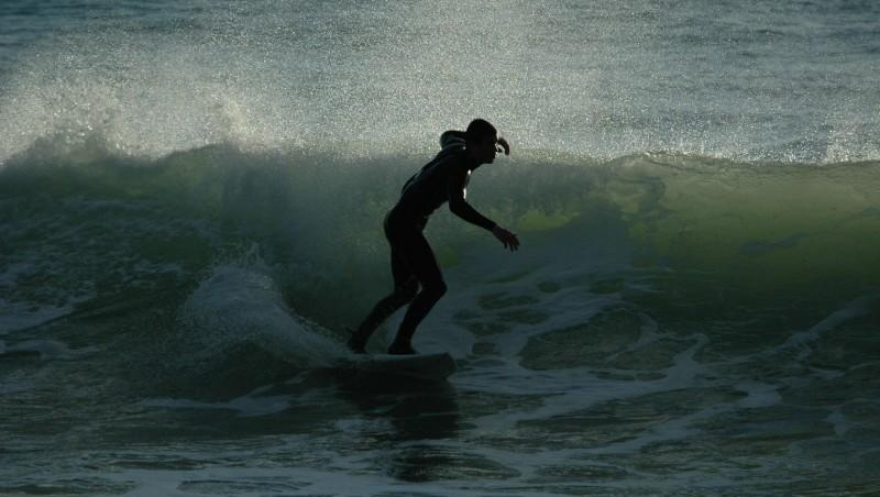 Surf report Penhors - France (29) 2010-01-30 17:00:00