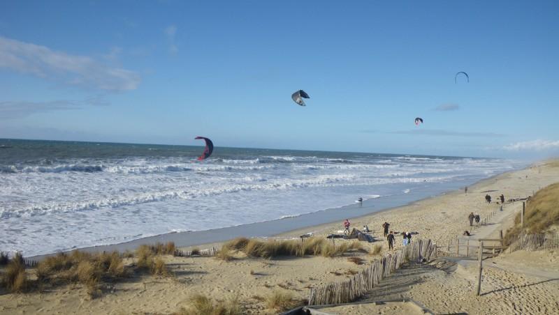 Wind report Lacanau Océan - La Nord - France (33) 2010-01-30 15:00:00