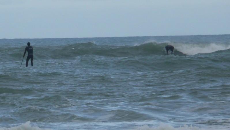Surf report Lacanau Océan - La Nord - France (33) 2010-02-02 11:00:00
