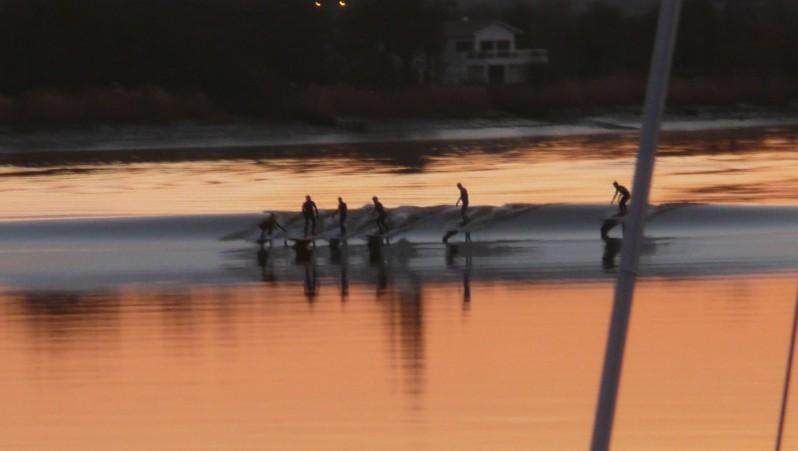 Surf report Mascaret de Saint-Pardon - France (33) 2010-02-02 18:00:00