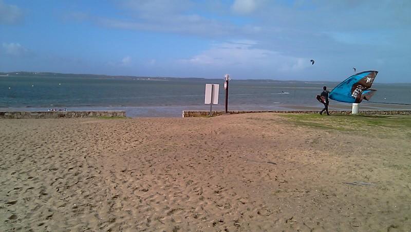 Wind report Arcachon - Les Arbousiers - France (33) 2010-02-05 14:00:00