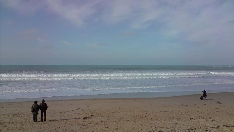 Surf report Plage des Dunes - France (85) 2010-02-07 10:00:00